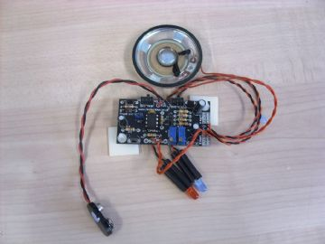 4 Siren and Light Generator Kit for Models and RC Models Self Build Kit